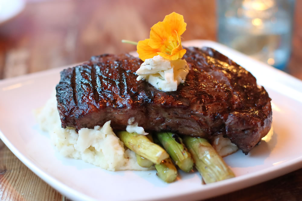 Steak at Earl's New American 2400 Street Rd, New Hope, PA 18938