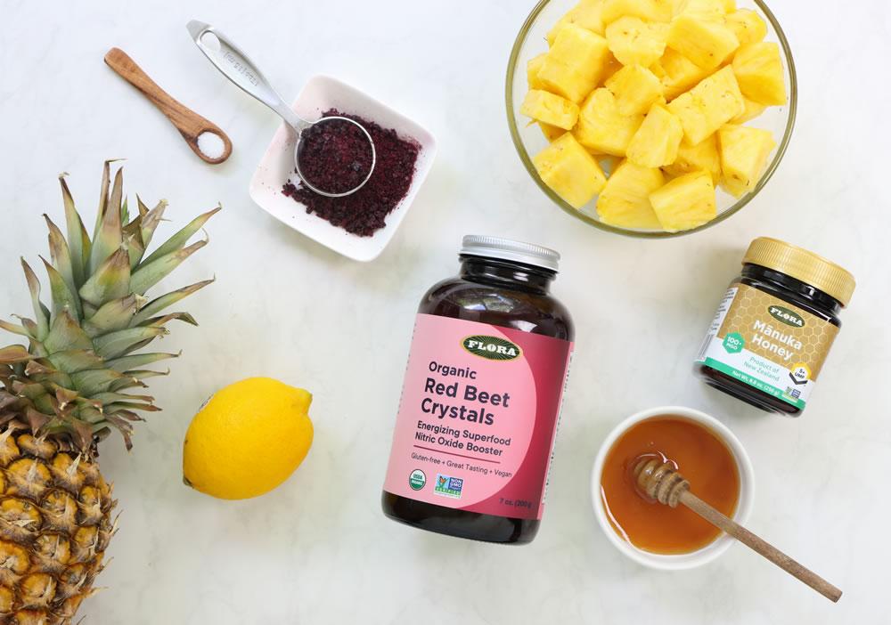 Beet and Pineapple Granita - Better Living